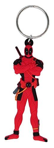 Monogram Marvel Comics Deadpool Soft Touch PVC Llavero ...