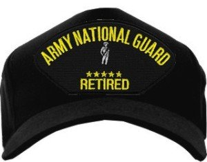 MilitaryBest Army National Guard Retired Ballcap