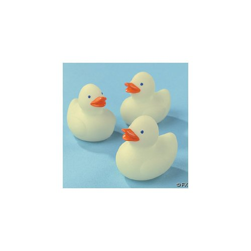 Mini Glow Dark Rubber Duckies