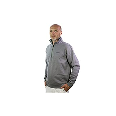 BEAR-GRYLLS-BY-CRAGHOPPERS-CMT651-MENS-HALF-ZIP-JACKET-STEEL-XXL