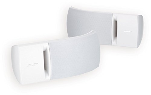 Bose 161 Speaker System (White) - ideal for stereo or home theater use