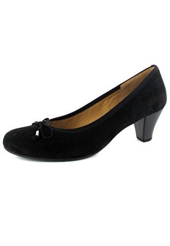 Gabor, Zapatos Negros De Tacón Alto Para Mujer