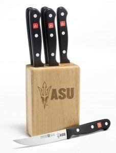 Gourmet-7-Pc-Arizona-State-Steak-Knife-Block-Set-Clearance
