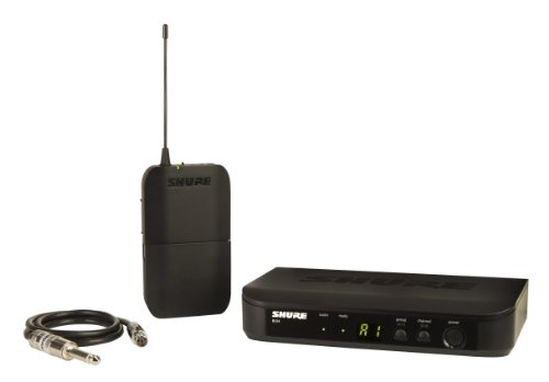 Shure BLX14 Wireless Guitar System with WA302 Guitar Cable, J10 by Shure