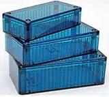 Hammond Manufacturing 1591DTBU 1591D TRANSPARENT BLUE