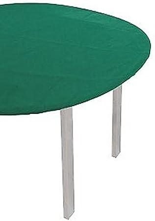 LOVELY HOME Mantel con elástica verde muletón de fieltro mesa ...