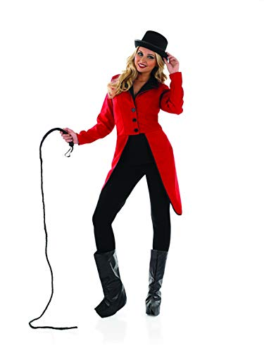 Womens Circus Ringmaster Jacket Red Showman Tailcoat Costume - XX-Large ()