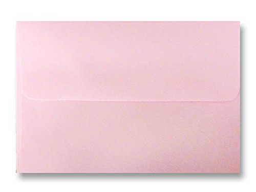 Pink Pastel 25 Pack A7 Envelopes for 5 x7 Invitations Announcements Showers from The Envelope Gallery