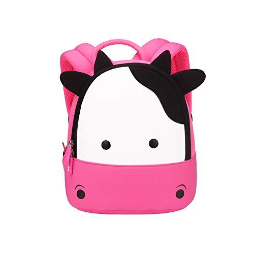 NOHOO Toddler Kids Backpack Child Cute Zoo Sidekick bag Preschool Cartoon Unicorn backpack for 2-6 years