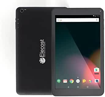 Elecost E10.1 16GB & 2GB RAM - 10.1 inch Best Android Tablet PC Lollipop 6.0 Marshmallow Quad Core CPU Twin Camera (5MP & 2MP) 1280 x 800 IPS Touchscreen Bluetooth 4.0 Google Play