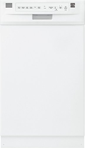 Kenmore 14662 18″ Built-In Dishwasher, White
