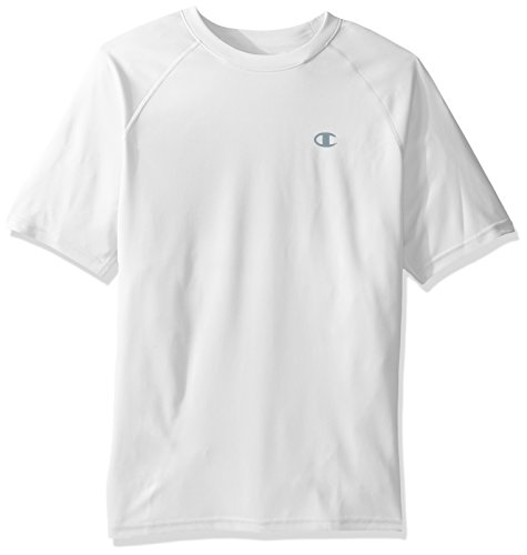 Baseball White Undershirt (Champion Men's Double Dry Select Tee with FreshIQ, White, XL)