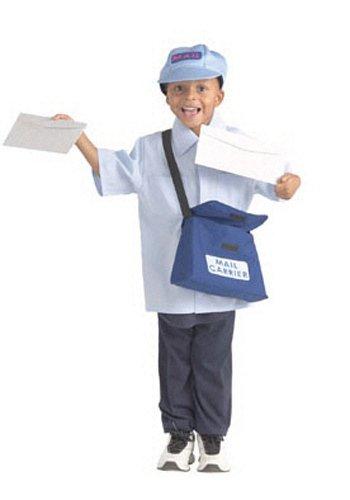 Brand New World Community Helper Mail Carrier Dramatic Dress Ups -
