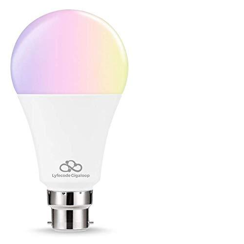 Lyfecode Gigaloop Smart LED Bulb -WiFi, Alexa, Google Assistant Enabled