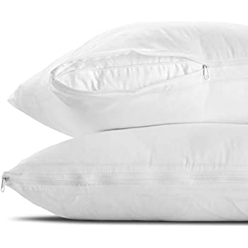 Amazon Com Featherproof Pillow Protector Home Kitchen