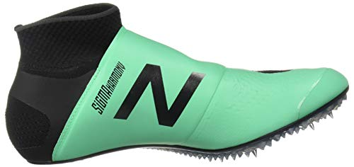 New Balance Men's Sigma Harmony Vazee Track Shoe neon Emerald/Black 4 D US by New Balance (Image #7)