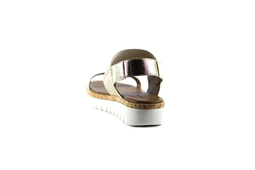 Inuovo Sandales Pour Femme Platine FeO3RGb
