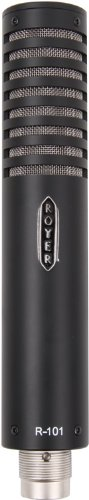 Royer Labs R-101 Large-Element Ribbon Microphone, Black by Royer Labs