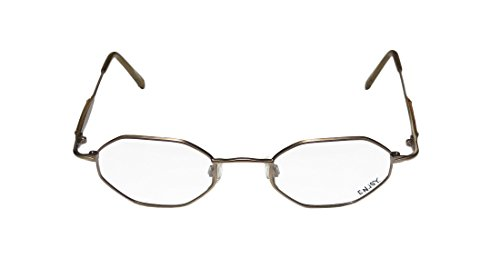 Enjoy 5711 MensWomens Rx-able Popular Design Designer Full-rim EyeglassesSpectacles (47-21-140 Matte Brown)