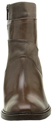 Donna Piu 10029 Brigida, Stivali Classici alla Caviglia Donna Grigio (Tequila Cenere/Nabuk Talpa/Sansone Taupe)