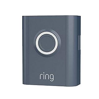 Ring Video Doorbell 3 and Ring Video Doorbell 3 Plus Faceplate - Blue Metal