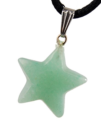 Celestial Collection - 20mm Classic Star Green Aventurine (New Jade) - 20