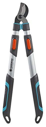 - Gardena  coupe-branches EnergyCut 750 A  : cisailles télescopiques, idéales pour la coupe de bois vert, poignées ErgoTec (12009-20)