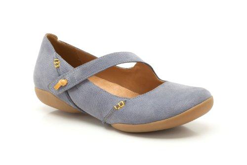 Clarks - Felicia Plum, Scarpe da donna, blu(blue), 42