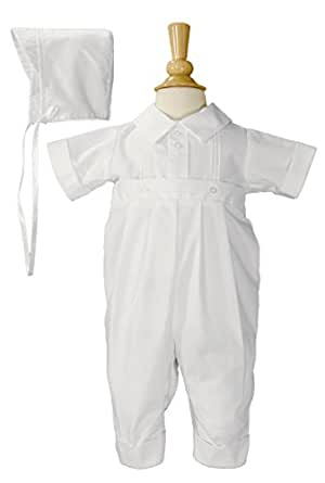 Polycotton Christening Outfit with Pintucking (18-24 Month)
