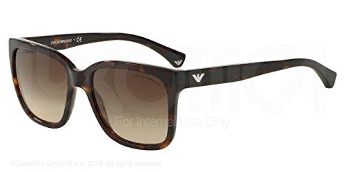Emporio Armani EA 4042F Women's Sunglasses Havana - Women Armani Sunglasses Emporio