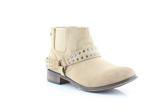 Roxy Womens Weaver Closed Toe Ankle Fashion Boots, Beige, Size 6.0