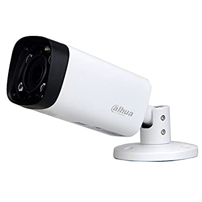 Dahua 4MP Bullet POE IP Camera IPC-HFW4431R-Z,2.7-12mm Motorized Varifocal Lens Optical Zoom IP67 IR Day and Night Outdoor Security Surveillance Camera H.264/H.265 ONVIF International Version