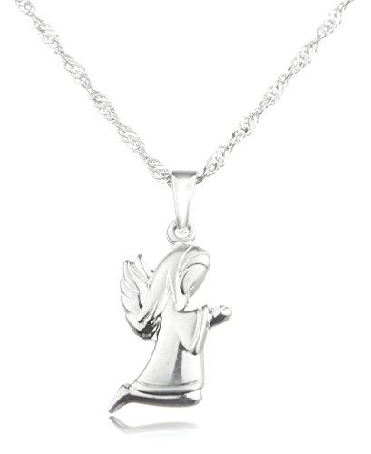 Plateado trendhouse GmbH collar con colgante rodillera largo ángel - veraplata 925