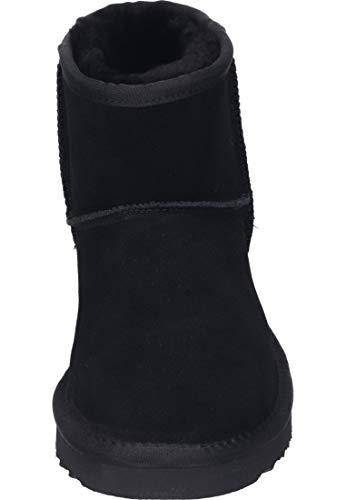 004 Para Black black Botas Mujer 532 Negro Slouch 264 Lea wvvzq6Ca