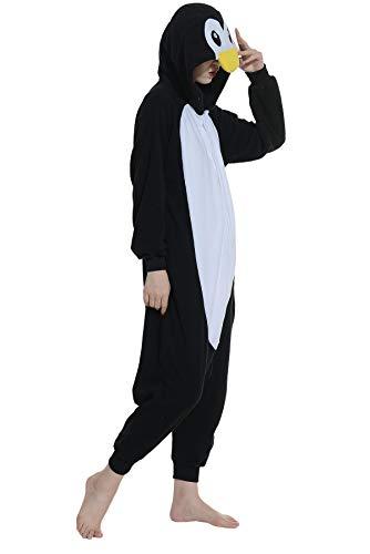 Pinguino da Nero Animati A Adulti Kigurumi Pigiama Animale Unisex Cosplay Cartoni Zq1Hwq