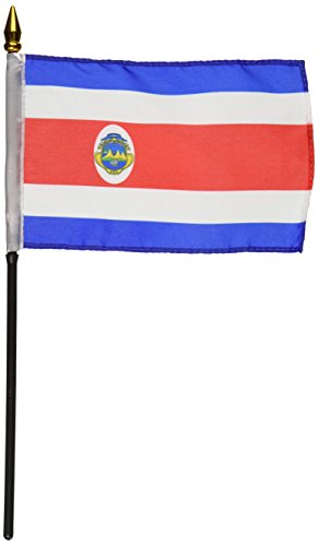 US Flag Store Costa Rica Flag 4 by 6-Inch