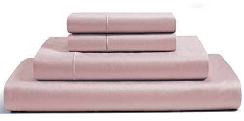 Egyptian Cotton Sheets King,800 Thread Count Sheets King,100% Pure,Egyptian Cotton Sheets,King Size Sheets Egyptian Cotton,Deep Pocket Sheets,Soft,Cotton Sheets,Sateen Sheets,King Sheets, Sepia Rose