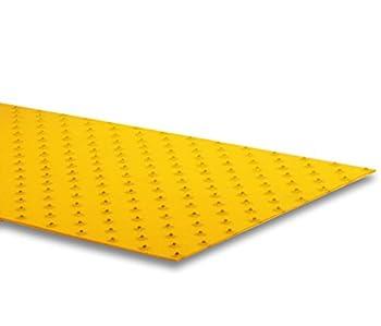 "XtremeGrip by GripAll. Yellow studded anti-slip product.  12"" x 24"""