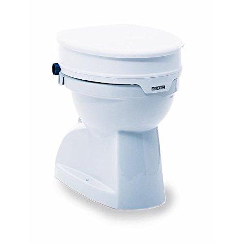 Invacare Aquatec 90Toilettensitzerhöhung mit Deckel weiß