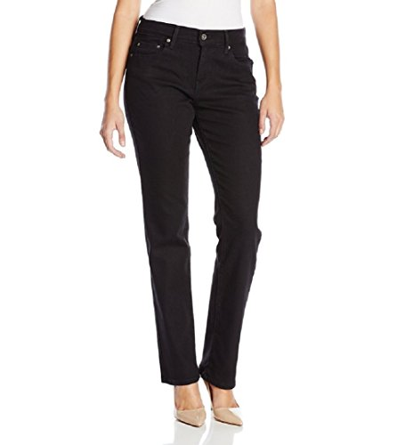 Levi's Women's 505 Straight-Leg Jean, Black Onyx,  26/2 M...