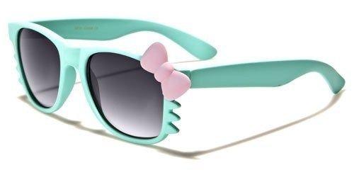 Aquamarine Kitty Bow Tie Vintage Shades Matte Frame Women'S Novelty - Marine Sunglasses Costa West