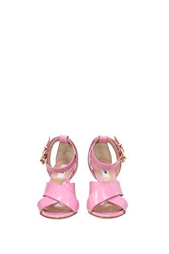 Cuir MOSCHINO Femme EU MA16149C15MC0 Sandales Verni Rose wp6qpaEW