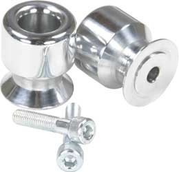 Polished Arm Swing Spools (DMP Swingarm 10mm Spools - Polished 200-2200)