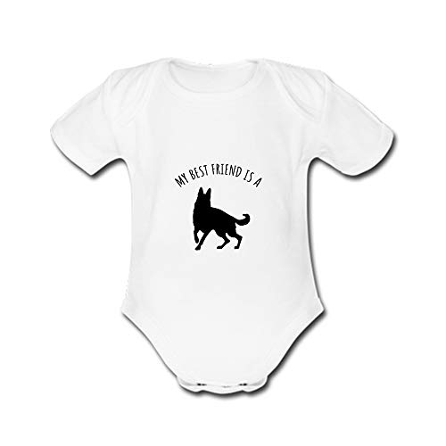 Amazon Com Unisex Baby My Best Friend Is A Dog Rompers Body Suit