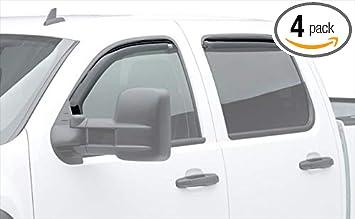 EGR SlimLine In-Channel Window Visors fit 2019 RAM 1500 Crew Cab Dark Smoke