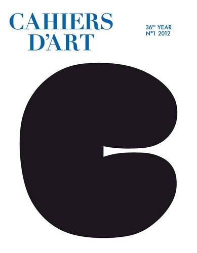Cahiers d'Art Issue N°1, 2012 (Revue)