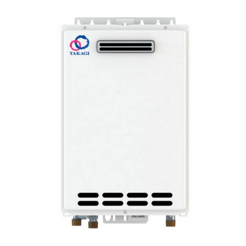 TAKAGI T-KJr2-OS-NG Outdoor Tankless Water Heater, Natura...