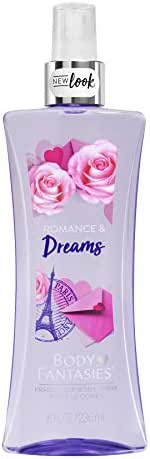 Body Fantasies Signature Fragrance Body Spray, Romance and Dreams, 8 Fluid Ounce