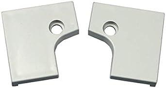 Tapa Tapa izquierda derecha gris claro Campana extractora Miele 8567410
