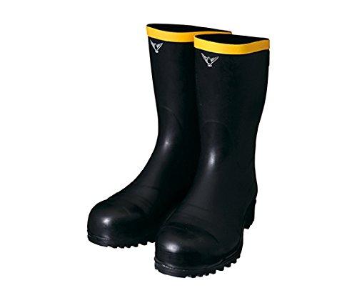 1-2684-11静電気帯電防止安全長靴AE-01124 B07BDPQGS5